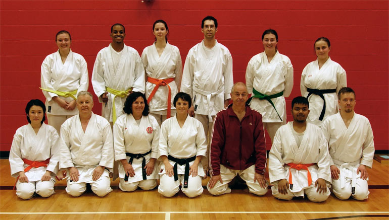 Guest Instructors Sensei Dave and Theresa Griffin