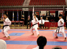 2015 National Championships in Quebec - NS Provincial Team Kata
