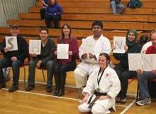 Shotokan Karate Halifax - SMU Club Members Supporting Each Other